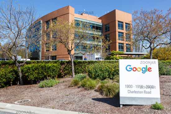 Google headquarter headquarters HQ Googleplex Mountain View