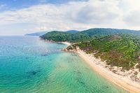 The beaches Elias and Agistros in Skiathos, Greece