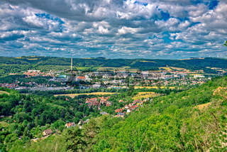 A part of Jena Thuringia from above