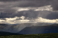 View over Dovre mountains