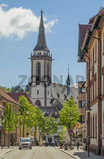 Neustadt mit Münster St. Jakobus,  Titisee-Neustadt im Schwarzwald