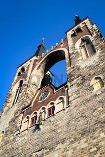 Kirchtürme der Köthener St. Jacobs Kirche