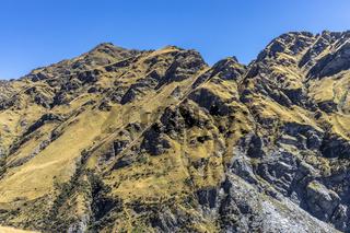 Neuseeland Südinsel -  Maori Point am Shotover River an der Skippers Canyon Road nördlich von Queenstown in der Otago Region