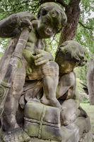 Buergermeistergarten Skulpturen