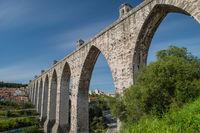 The Aqueduct Aguas Livres Portuguese: Aqueduto das Aguas Livres Aqueduct of the Free Waters is a historic aqueduct in the city of Lisbon, Portugal