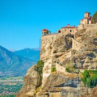 Monastery of Varlaam in Meteora - Greek landmark