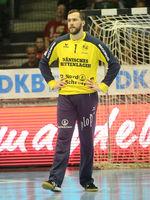 Handball-Torwart Benjamin Buric (SG Flensburg-Handewitt) Liqui Moly HBL, Handball-Bundesliga Saison 2019-20