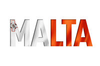 malta flag text font