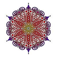 Mandala rot