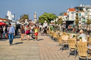 Warnemünde, Strandpromenade