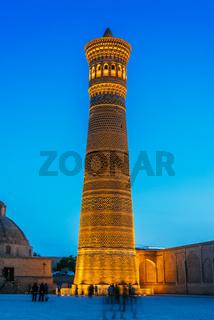 Kalan minaret in the Historic Centre of Bukhara