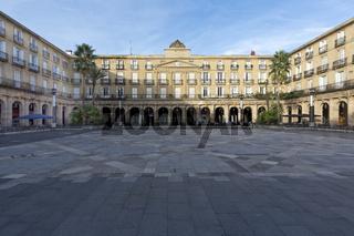 Plaza Nueva in Bilbao, Baskenland