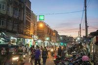 THAILAND ISAN SURIN CITY STREET CORNER