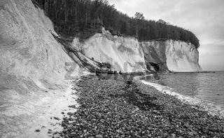 Kreidefelsen bei Sassnitz - Insel Ruegen