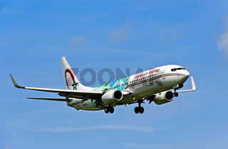Royal Air Maroc, Boeing 737-800, CN-RGG, Marokko