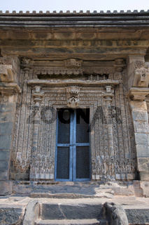 Kashivishvanatha Temple, Lakundi, Karnataka State, India. Inscriptions and motifs