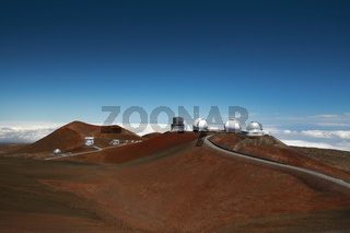 Mauna Kea telescopes , Big Island, Hawaii