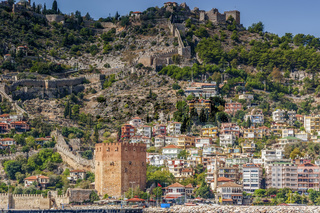 The Red Tower Alanya Turkey
