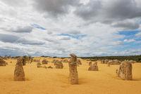 Pinnacles Desert in the Nambung National Park