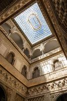 Königlicher Alcázar, Sevilla, Andalusien, Spanien, Europa
