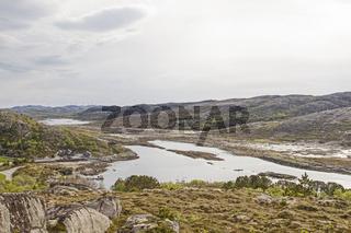 Fjord bei Tjoernsoy
