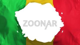 Broken Mali flag