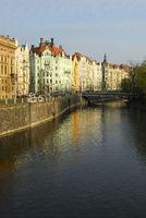 Moldauufer in Prag