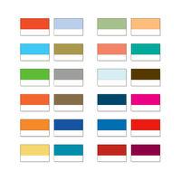 Aquarelle palette, Artistic paint set, Watercolor catalogue swatches, pigment samples.