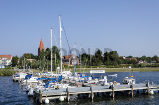 Schiffsanleger am Salzhaff bei Rerik/Ostsee
