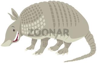 armadillo animal cartoon illustration