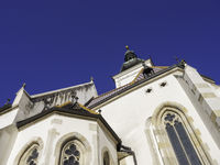 Old church of st. michael at zagreb