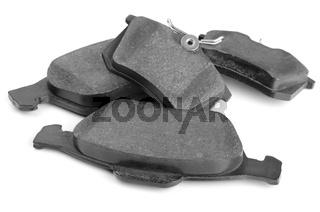 Set of car brake pads