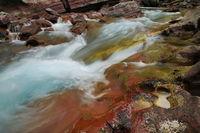Red Rock Point, haystack creek  glacier national park