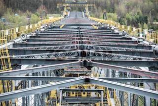 Abraumförderbrücke F60 im Braunkohletagebau