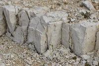 Kalkstein in den Dolomiten