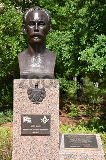 Jose Marti at Hawkins Sculpture Walk at McGovern Centennial Gardens, Hermann Park in Houston, Texas
