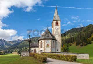 Church of St. Veit in the Pragser valley