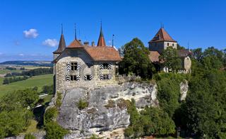 Schloss Rue, Château de Rue, Rue, Kanton Freiburg, Schweiz