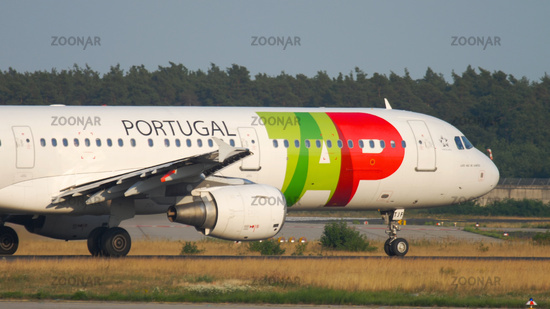 TAP Airbus A321 departure