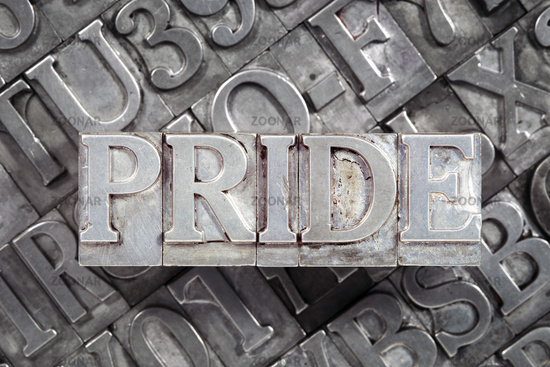 pride word metallic