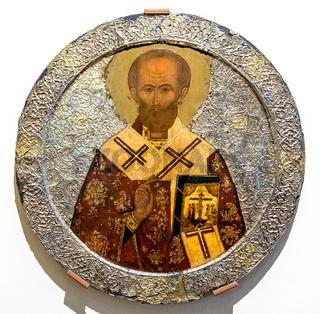 Russian orthodox icon. St Nicholas
