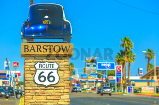 Barstow city on Route 66