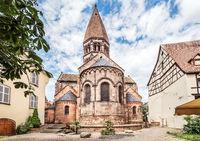 Church of Saint Faith of Selestat is a major Romanesque architecture landmark in Selestat