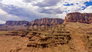 Storm Clouds Overhead at Vermillion Cliffs Navajo Territory Desert Southwest