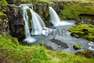 Waterfall Kirkjoufellfoss