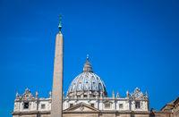Saint Peter Basilica Dome in Vatican