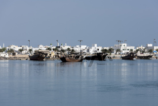 Boat Factory, Ar Rashah (Manufacturing Dhows, wooden ships), Sur, Sultanate of Oman