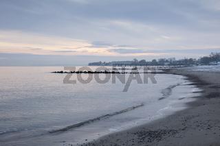 Morgenlicht an der Ostseekueste