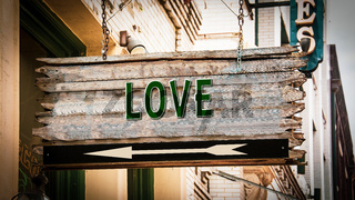 Street Sign to Love
