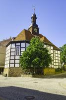 Konzerthalle in St. Georg, Bad Freienwalde, Brandenburg, Deutschland